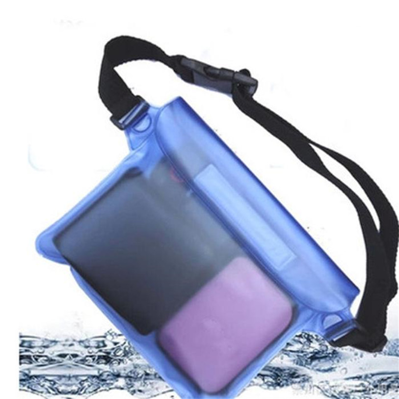 2017 Waterproof Pouch Waist <font><b>Bag</b></font> Pouch Beach Pouch with Adjustable and Extra-Long Belt Outdoor Sports <font><b>Bag</b></font> Bike Accessories May 8