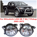 For Mitsubishi L200 KB_T KA_T Pickup  2005-2015  10W Fog Light LED DRL Daytime Running Lights Car Styling lamps