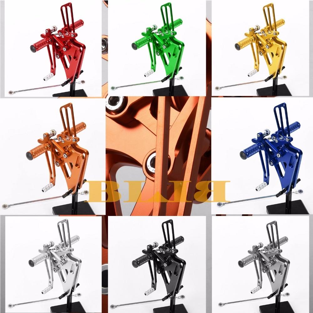 8 Colors For Honda CB400SF ABS 2008-2013 CB400 VTEC1-4 CNC Adjustable Rearsets Rear Set Motorcycle Footrest Moto Pedal 2009 2010 8 color for ducati 999 949 749 748 916 996 998 cnc adjustable rearsets rear set motorcycle footrest hot high quality moto pedal