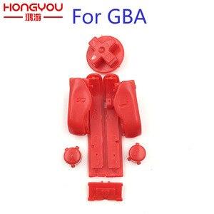 Image 3 - 10 комплектов, сменные кнопки A B L R, левые и правые кнопки, кнопки для Gameboy Advance, кнопки, рамка для GBA