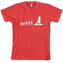 Evolution of Man SailER Mens T-Shirt / gift Sailor  print T Shirt Short Sleeve Hot Tops Tshirt Homme
