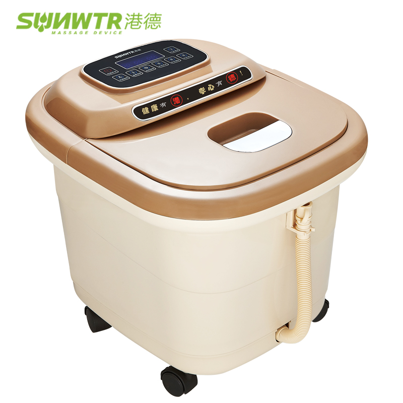 Massage Relaxation 3D SPA Foot Massager Electric vibrator Roller foot temperature surfing heating feet care shiatsu smassagem electric foot massager foot massage machine for health care personal air pressure shiatsu infrared feet massager with heat 50030