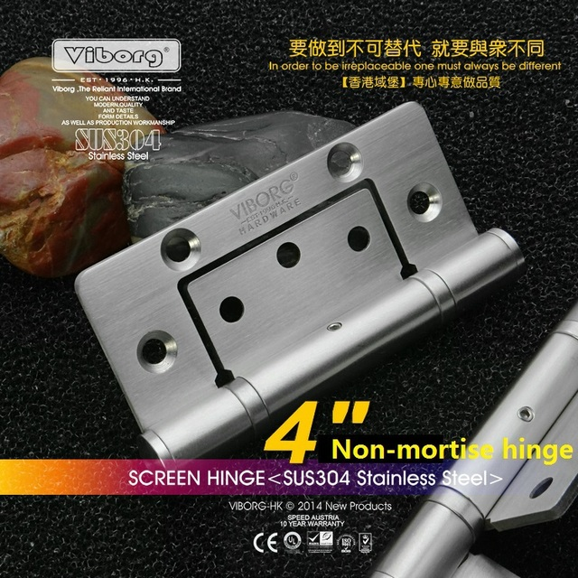 VIBORG 4\  Deluxe 304 Stainless Steel Casting Extra-thick Smooth\u0026Quiet Non mortise Ball Bearing  sc 1 st  AliExpress.com & VIBORG 4\