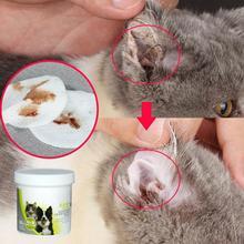 Adeeing 100 шт Салфетки для домашних животных для собак кошек ушей для чистки глаз