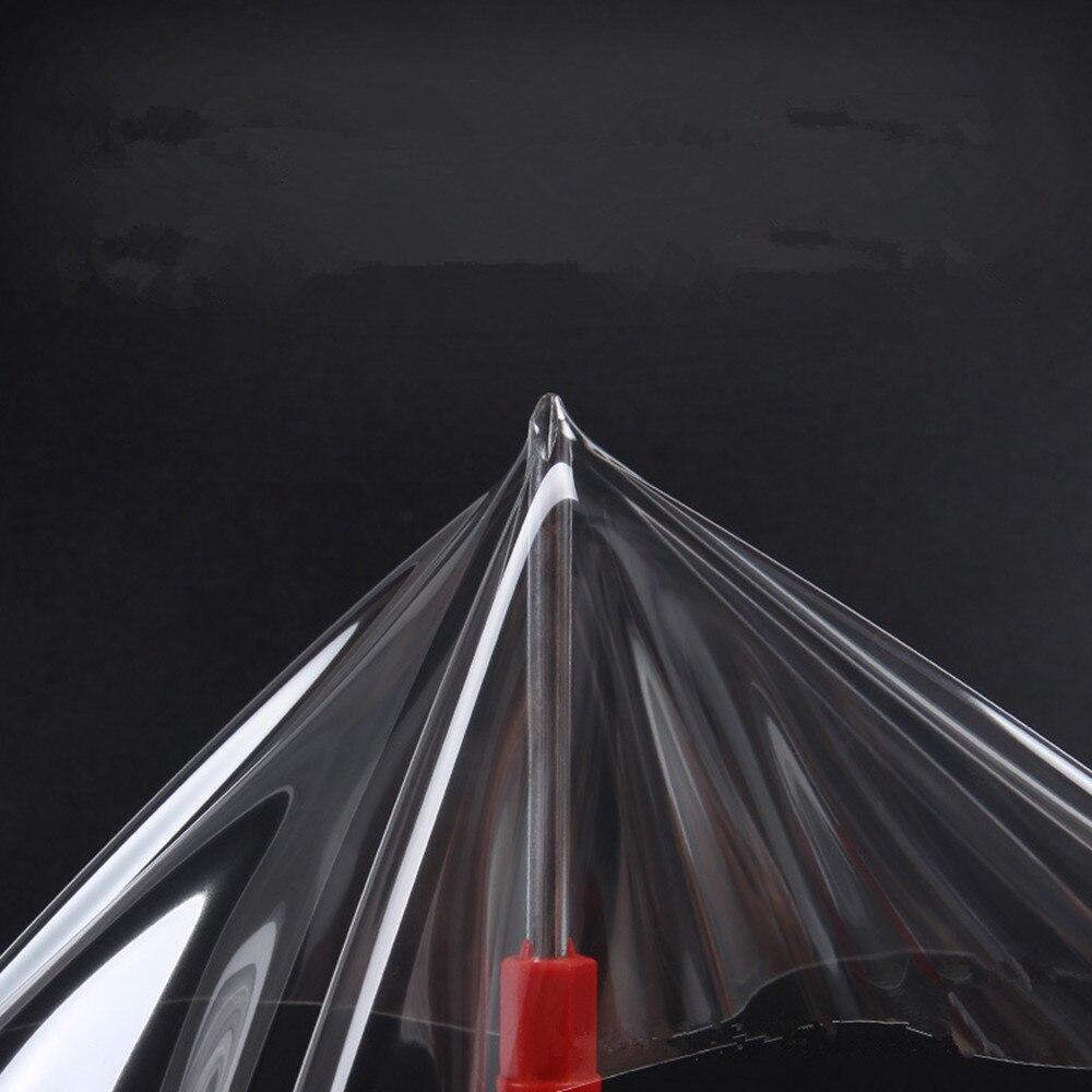 Film protecteur de voiture/meubles/marbre de SUNICE PPF Film protecteur de peinture de voiture Film d'emballage auto-adhésif 50cm x 600cm Film de TPH - 2