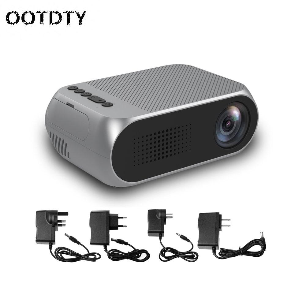 Mini 1080P HD Home Mini Movie Projector Multimedia Cinema Theater LED LCD Pocket wifi wireless mini dlp projector home cinema entertainment for phones multimedia projector