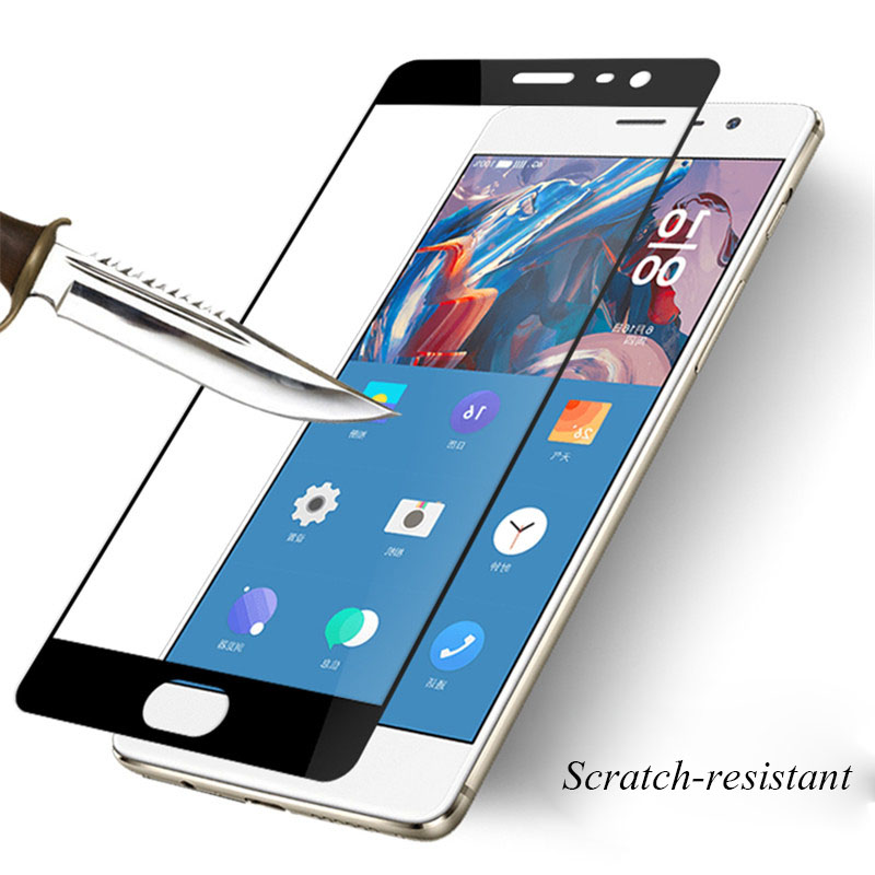 huge discount 4dd4f 296bc 9H Screen Protector Film Tempered Glass For OnePlus 3 3T 5 5T 6 full cover  black protective film For OnePlus 3 3T Glass B107-in Phone Screen ...