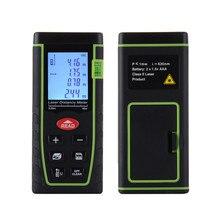 Cheapest prices 40M Bubble Level Rangefinder Range Finder Tape Measure Area Volume Digital Laser Build Measure Device Infrared Ruler Test Tools