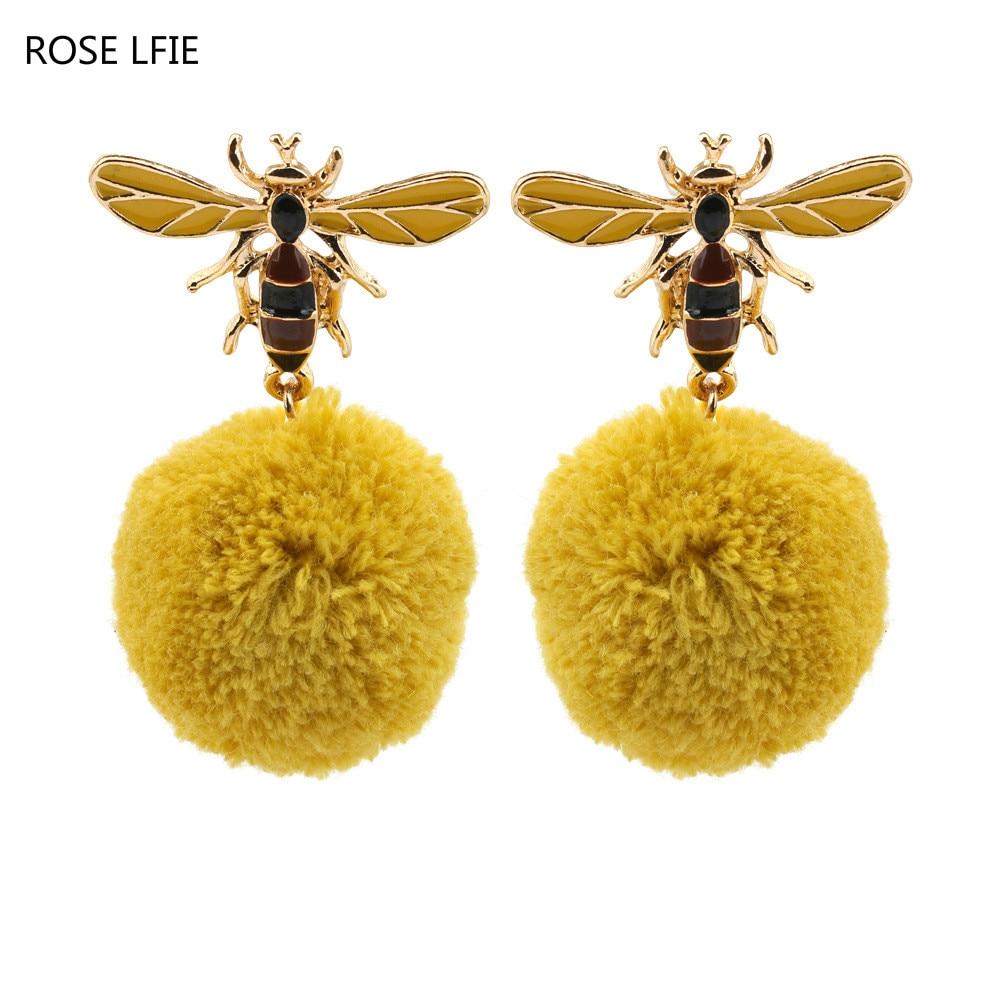 ROSE LIFE Новий милий бджоли емальована - Модні прикраси