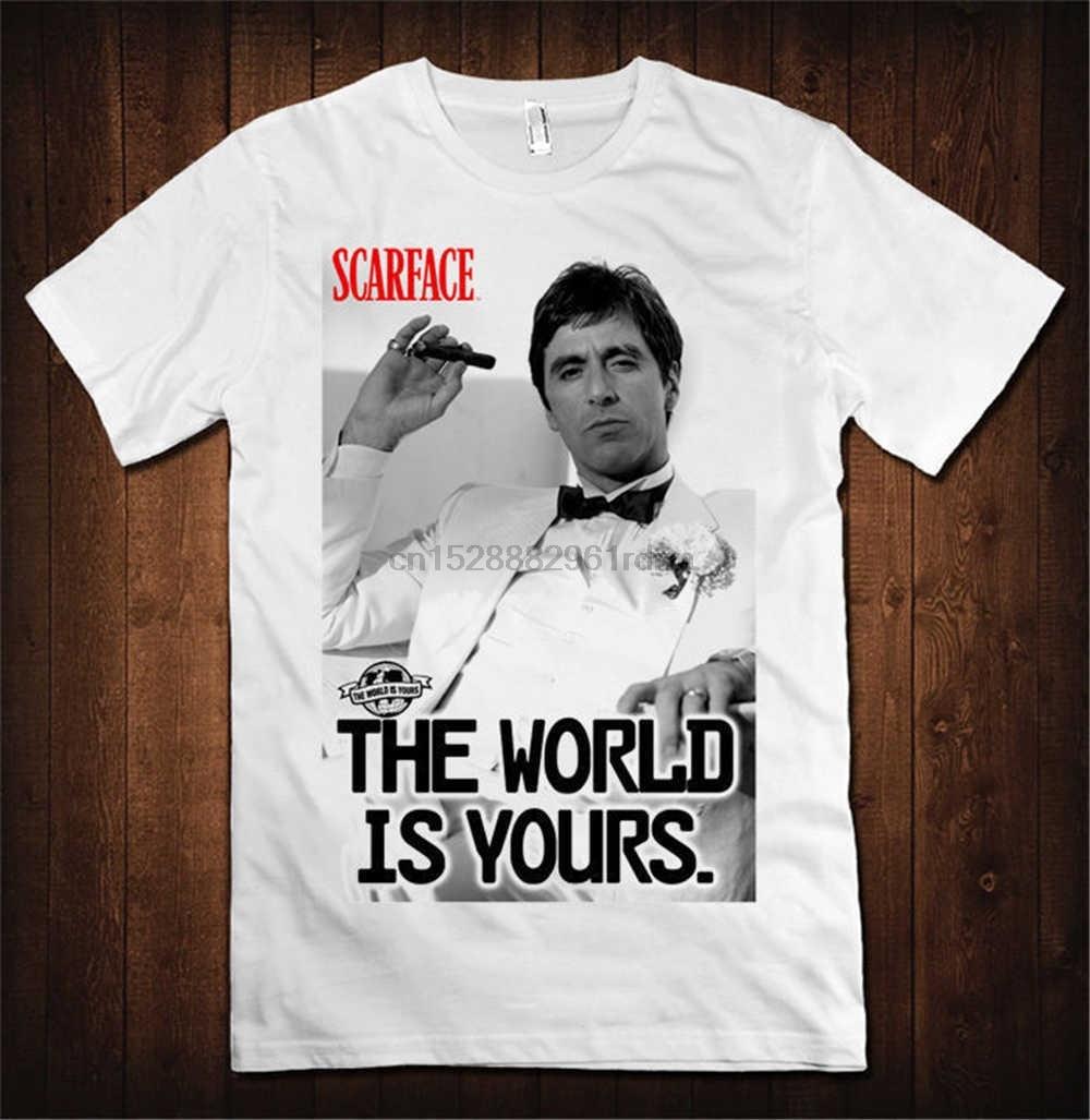 THE WORLD IS YOURS SWEATSHIRT Tony Pacino Scarface Mafia Montana Sweat Pullover