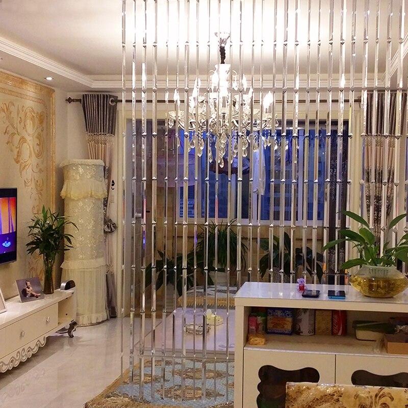 Cristal rideau de luxe mariage toile de fond décoration fournitures chaîne porte rideau fenêtre chambre diviseur décoration de la maison cortinas - 3