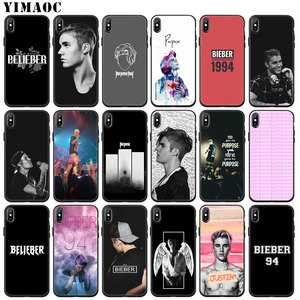YIMAOC Justin Bieber Soft Silicone Phone Case for iPhone 11 Pro XS Max XR X 6 6S 7 8 Plus 5 5S SE 10 TPU Black Cover(China)