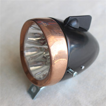 2016 New classic bike light 7 led lamp for vintage bicycle accessories retro