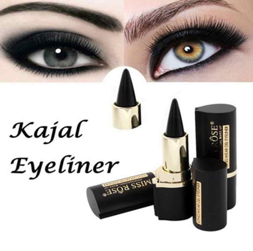 Wateroroof Make-Up Ogen Potlood Longwear Zwarte Gel Eyeliner Sticker Eyeliner Make Up Eyeliner Lapis De Olho Delineador