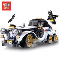 305Pcs Lepin 07047 Genuine Series The Arctic War Penguin Classic Car Set Building Blocks Bricks Toys