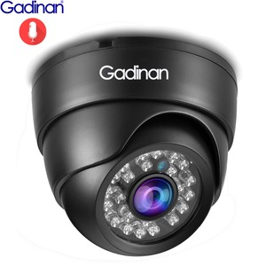 Image 1 - Gadinan IP מצלמה 5MP 2592*1944P SONY IMX335 ראיית לילה אודיו Micphone כיפת 3MP 2MP מלא Hd POE אבטחה מעקב מצלמה