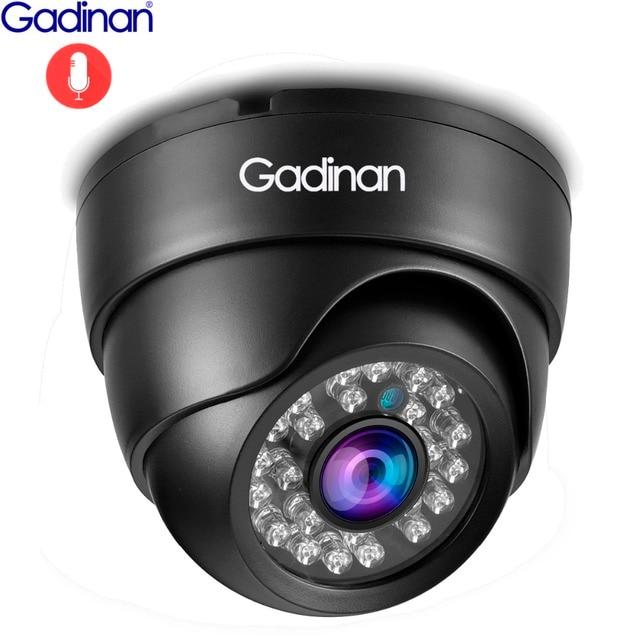 Gadinan IP מצלמה 5MP 2592*1944P SONY IMX335 ראיית לילה אודיו Micphone כיפת 3MP 2MP מלא Hd POE אבטחה מעקב מצלמה