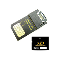 32MB XD Picture Card With XD SM Smart Media Card Adapter 32MB XD Card With Adapter