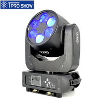 6x25W Moving Head Beam RGBW Dmx Lyre Beam Mobile Head LED Wash Projector Light Equipment Stage Lighting Effect For Wedding Club