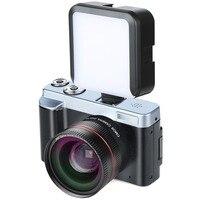 ALLOET цифровая камера P12 флип-экран беспроводной wifi двойной широкоугольный Len FullHD 1080 P 24MP 16X Zoom цифровая камера видео рекордер