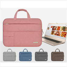 Tablet Sleeve bag for Microsoft Surface Pro 3 Pro 4 Laptop Handbag bags for macbook 11 12 inch Notebook Soft Solid Tablet Cover
