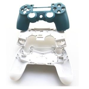 Image 3 - PS4 프로 컨트롤러 소니 플레이 스테이션 4 프로 JDM 040 JDS 040 Gen 2th V2 커버 알파인 그린 스킨 키트에 대 한 전체 설정 주택 케이스 셸