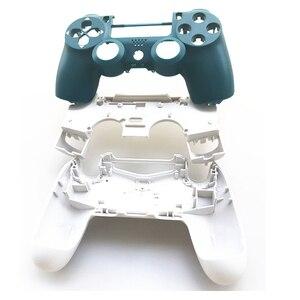 Image 3 - PS4 PRO denetleyici tam Set konut Case Shell Sony PlayStation 4 Pro için JDM 040 JDS 040 Gen 2th V2 kapak alp yeşil cilt seti