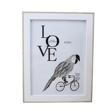 Home Decoration Photo Frame Wall-Mounted Wooden Exquisite Style Creative Fashion Partner Pendant