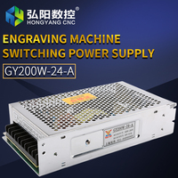 Power Supply 200W24V Driver Switch CNC ROUTER PARTS Factory Supplier Free Shipping