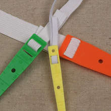ZOTOONE 3pcs/lot 6mm 155mm 220mm Colorful Plastic Sewing Threaders Wear Elastic Band String Craft DIY Tool Home Helper E