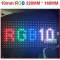 10mm pixel módulo full color interior/semi-ao ar livre hub 75 1/8 varredura 320*160mm 32*16 pixel display p10 smd 3 em 1 rgb levou módulo