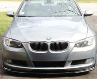 Неокрашенный Ham Стиль передний спойлер для BMW E92 E93 335i 328xi 328i 335xi 335is купе нормальной передняя Bumper2007 2010