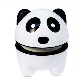Mini Vibrating Massager Electric Massage Stress Relief For Arm Neck Back Shoulder Body Cute Panda Shape Electronic Tool 2017 hot sale mini electric massager digital pulse therapy muscle full body massager silver