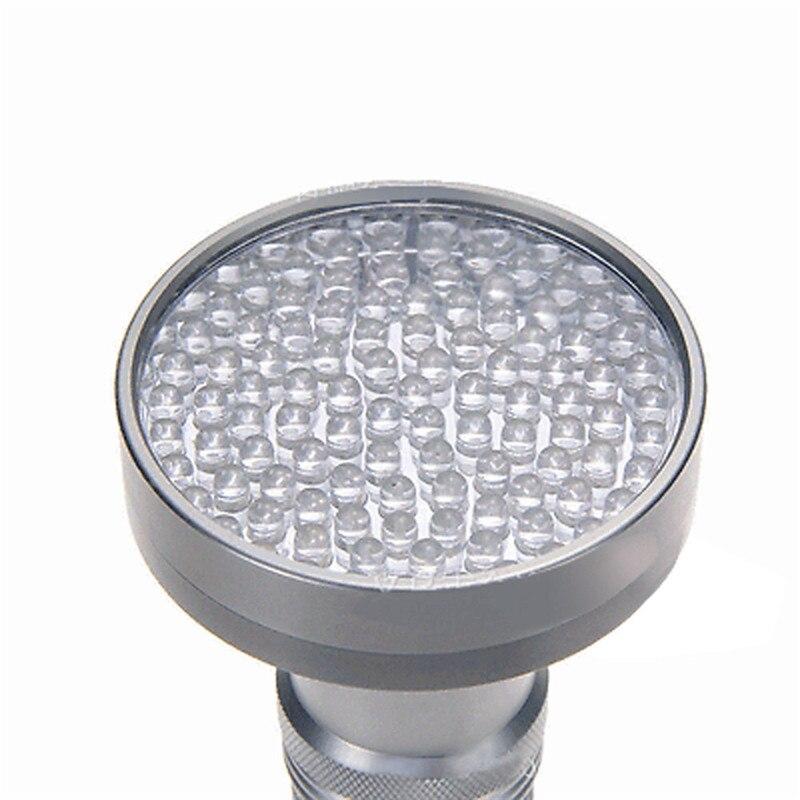 Фонарик для велосипеда 100 светодиодных УФ Blacklight Скорпион фонарик супер яркий обнаружения света открытый батареи 17629 P34