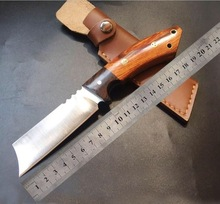 very sharp Tactical knife manual forging straight tool Self-defense  outdoor camping supplies Gift