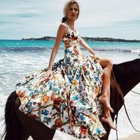 Beach Cover Up Dress Dresses Summer Woman Swimsuit Women Capes New Skirt 2019 Print Acetate Bikini Cover Up Swimsuit Cover Up