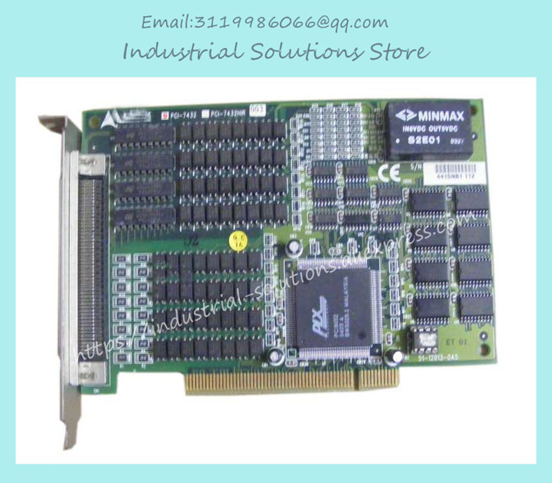New Original Data Acquisition Card 64 Channel Isolation High Speed Digital Io Card PCI-7432 100% tested perfect quality bendis brian michael powers volume 2