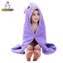 MICHLEY/детское полотенце для детей от 0 до 7 лет, весеннее милое полотенце с капюшоном и рисунком для девочек, милая пляжная одежда с животными для мальчиков Детский цветной хлопковый банный Халат