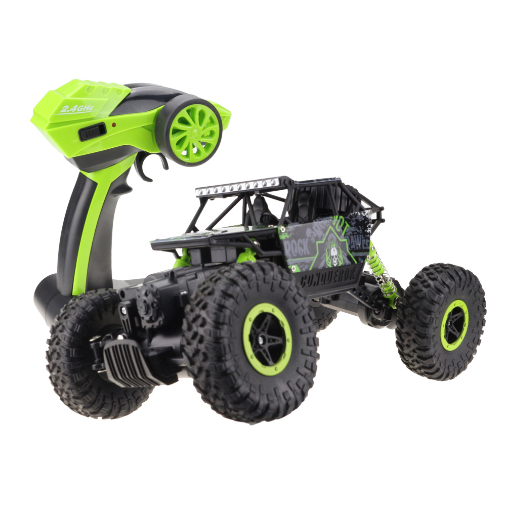 Lynrc RC coche 4WD 2,4 GHz coche de 4x4 de doble motores Bigfoot coche modelo de Control remoto- vehículo de juguete