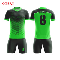 hot sale red and black comfortable custom football jersey