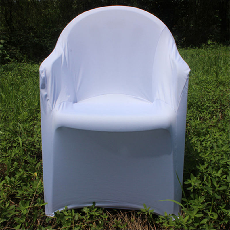 Hot Sale Plastic Outdoor Spandex Arm Cheap Chair Covers