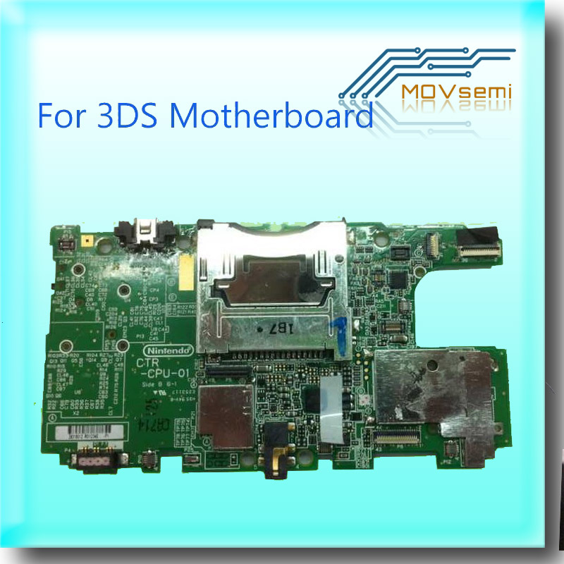 Original USA Version Motherboard For 3DS Mainboard PCB Board Replacement Spare Part