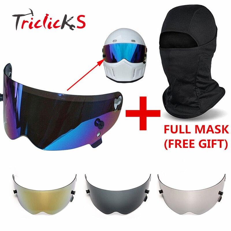 Baosity New Style Motorcycle Full Face Modular Helmet Visor Shield for AGV K3 K4-2