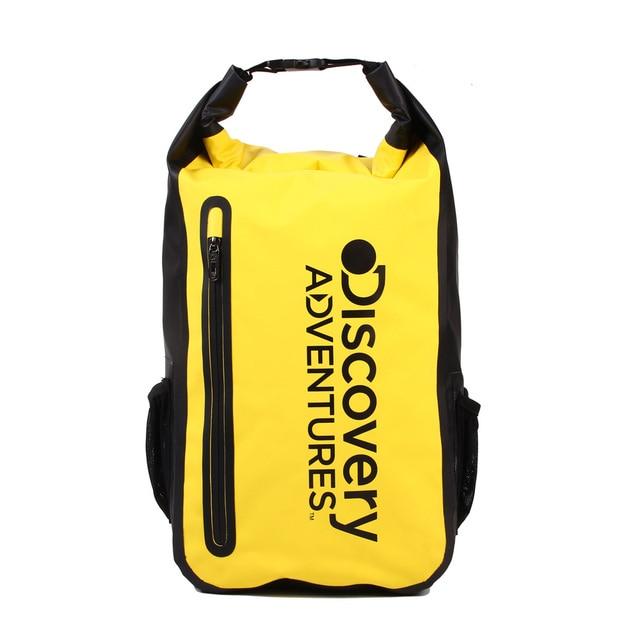 גילוי הרפתקאות יבש תיק עמיד למים תרמיל שחייה תיק נסיעות יבש תיק שק דובון טיולי קמפינג תיק משלוח חינם