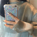 3D ארנב פרווה מקרה עבור iPhone 7 במקרה יוקרה בלינג Diamong פוקס כיסוי ראש, על Coque iPhone 6S מקרה עבור iPhone 7 בתוספת 6 6S Plus 5S