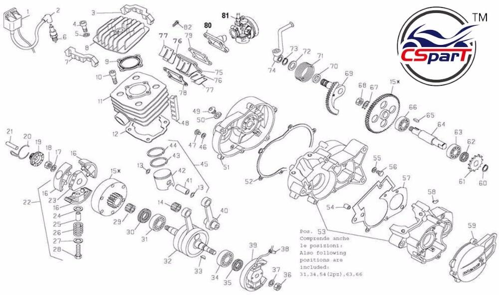 KTM 50 Engine Air