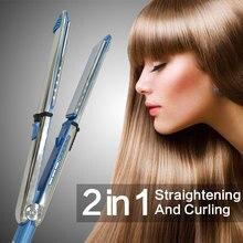 Buy online Tourmaline Ceramic Hair Straightener Professional Straightening Iron Intelligent Flat Irons Hair Curler Styling Tool