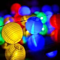 20 LEDs de Corda Luzes de natal Ao Ar Livre Indoor Solar Lanterna Decorações para a Casa Da Árvore de Natal Piscando luzes Da Paisagem Do Jardim