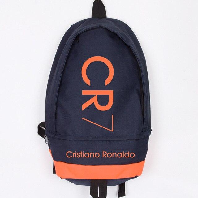 sito affidabile f8e43 2bf14 US $37.66 12% di SCONTO|New Fashion Cristiano Ronaldo CR7 Zaino Canvas Uomo  Donna Grande Capacità Del Computer Zaino Zaino Da Viaggio Sacchetto di ...
