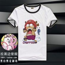 Free Shipping Hotest Anime One Piece Tonny Tonny Chopper T-shirt Short Chopper Tees Top Shirt